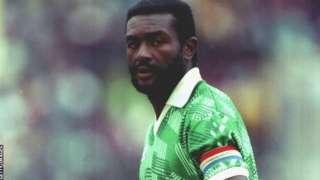 Former Cameroon captain Stephen Tataw