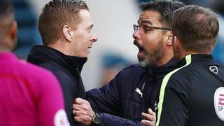 David Wagner and Garry Monk