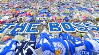 Leicester tributes to Vichai Srivaddhanaprabha