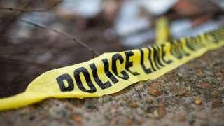 File image of crime scene in US
