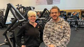 Gym owners Thea Holden and Chris Ellerby-Hemmings