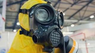 Заштитно одело за проверавање присуства отровних хемикалија