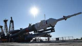 Soyuz booster rocket