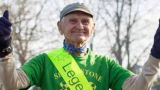 Bob Emmerson after his 350th parkrun