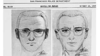San Francisco police publish sketch of di suspect for 1969