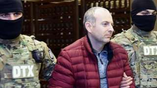 Александр Лапшин после экстрадиции в Азербайджан