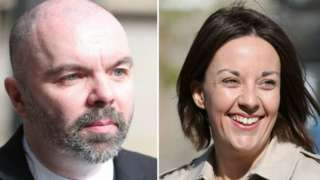 Stuart Campbell and Kezia Dugdale