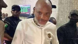 Nnamdi Kanu trial update: To insult Nigeria President na crime? How Criminal Code see am
