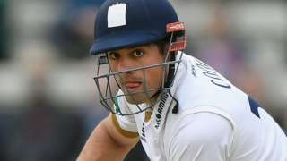 Essex and England opener Alastair Cook