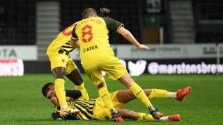Derby v Watford