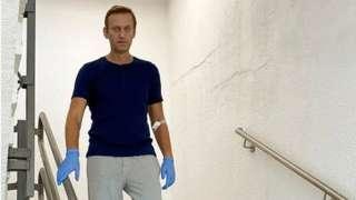 aleksej navaljni u bolnici u berlinu