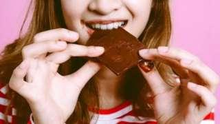 กินชอคโกแลต