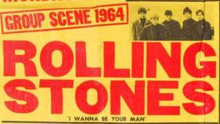 1964 Rolling Stones poster