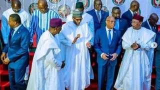 Aarẹ Buhari atawọn minisita
