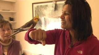 Freda Ireland and Dhathri Kiran Bollu
