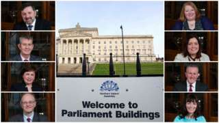 Stormont's new ministers