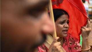 کسان احتجاج، انڈیا