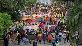 Protest in Cali, Colombia (28 May)