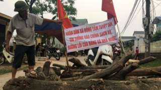 Người dân Đồng Tâm từng rất tin tưởng vào chính quyền Việt Nam.