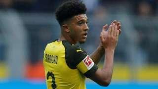 Dortmund's Jadon Sancho