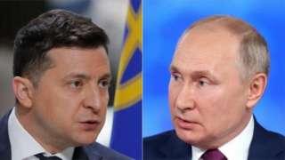 Россия ва Украина президентлари
