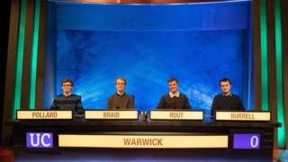L-R Richard Pollard, George Braid, Andrew Rout and Owain Burrell