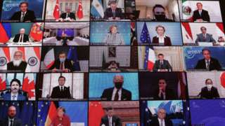 4月22日全球气候峰会。