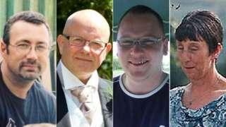William Barks, Derek Moore, Jason Shingler, Dorothy Bailey