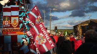 Flags at Turf Moor