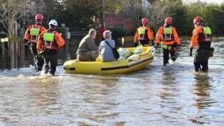 Flooding in Fishlake