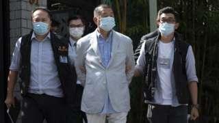 Jimmy Lai aalopokamatwa na polisi nyumbani kwake