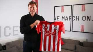 New Southampton manager Ralph Hasenhuttl