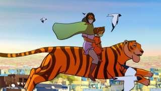 Priya on her tigress Sahas