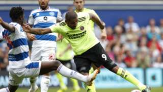 QPR Sheffield United action