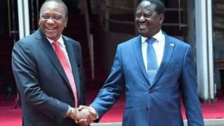 Raila na Uhuru