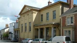 Former judge's lodgings in Presteigne, Powys