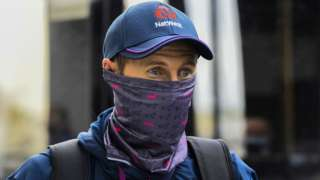 England captain Joe Root arriving at Hambantota airport in Sri Lanka