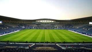 نمای استادیوم مرسول پارک یا ورزشگاه دانشگاه ملک سعود در شهر ریاض