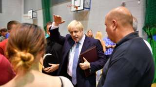 Boris Johnson meets the public