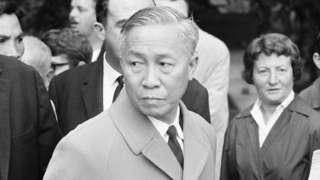Le Duc Tho in Paris 1965