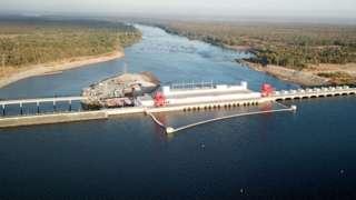 โครงการเกี่ยวกับแม่น้ำโขงของจีน