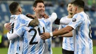 Argentina celebrate
