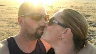 Sue Clark and fiance Richard Harding (both 41 and from Swindon)