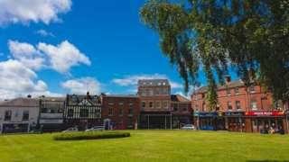 Wellington town centre