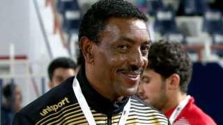 Ethiopian coach Abraham Mebratu