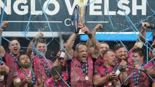 Exeter lift Anglo-Welsh Cup