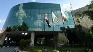 Confederation of African Football (Caf) building in Cairo