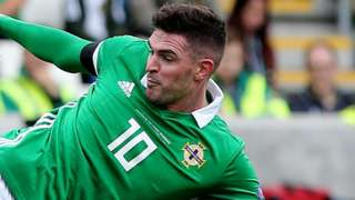 Kyle Lafferty started in last month's opening Nations League defeat by Bosnia-Herzegovina