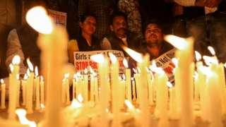 vigil in Delhi