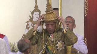 King Maha Vajiralongkorn is crowned, 4 May
